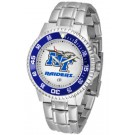 Middle Tennessee State Blue Raiders Competitor Watch with a Metal Band