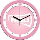 "Northern Arizona (NAU) Lumberjacks 12"" Pink Wall Clock"