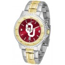 Oklahoma Sooners Competitor AnoChrome Two Tone Watch
