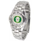 Oregon Ducks Ladies Sport Watch with Stainless Steel Band