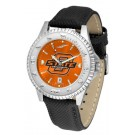 Oklahoma State Cowboys Competitor AnoChrome Men's Watch with Nylon/Leather Band