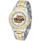 Oklahoma State Cowboys Competitor Two Tone Watch