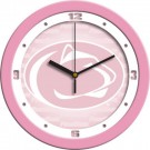 """Penn State Nittany Lions 12"""" Pink Wall Clock"""
