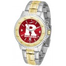 Rutgers Scarlet Knights Competitor AnoChrome Two Tone Watch