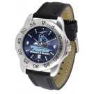San Diego Toreros Sport AnoChrome Men's Watch with Leather Band