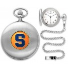 Syracuse Orange (Orangemen) Silver Pocket Watch