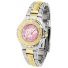 UTEP Texas (El Paso) Miners Competitor Ladies Watch with Mother of Pearl Dial and Two-Tone Band