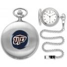 UTEP Texas (El Paso) Miners Silver Pocket Watch