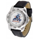 UTEP Texas (El Paso) Miners Men's Sport Watch with Leather Band