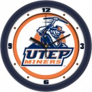 "UTEP Texas (El Paso) Miners Traditional 12"" Wall Clock"
