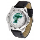 Tulane Green Wave Men's Sport Watch with Leather Band