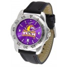 Tennessee Tech Golden Eagles Sport AnoChrome Men's Watch with Leather Band