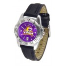 Tennessee Tech Golden Eagles Sport AnoChrome Ladies Watch with Leather Band