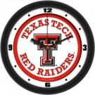 "Texas Tech Red Raiders Traditional 12"" Wall Clock"