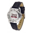 Troy State Trojans Ladies Sport Watch with Leather Band