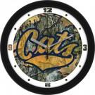 "Montana State Bobcats 12"" Camo Wall Clock"
