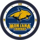 "Montana State Bobcats 12"" Dimension Wall Clock"