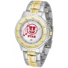 Utah Utes Competitor Two Tone Watch