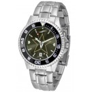 Vanderbilt Commodores Competitor AnoChrome Men's Watch with Steel Band and Colored Bezel