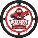 """Western Kentucky Hilltoppers Traditional 12"""" Wall Clock"""