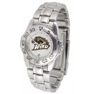 Western Michigan Broncos Gameday Sport Ladies' Watch with a Metal Band
