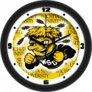 "Wichita State Shockers 12"" Dimension Wall Clock"