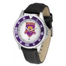 Weber State Wildcats Competitor Men's Watch with Nylon / Leather Band