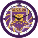"""Weber State Wildcats 12"""" Dimension Wall Clock"""