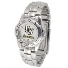 Wyoming Cowboys Gameday Sport Ladies' Watch with a Metal Band