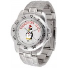 Youngstown State Penguins Sport Steel Band Men's Watch