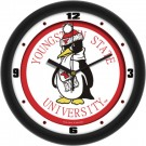 """Youngstown State Penguins Traditional 12"""" Wall Clock"""