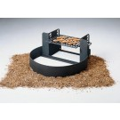 """7"""" High Fire Ring and Grill with Adjustable Grate (300 Square Cooking Inches)"""