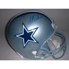 "Troy Aikman Autographed Dallas Cowboys Full Size Replica Helmet with ""3x SB Champs"" Inscription"