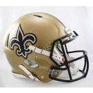 New Orleans Saints NFL Authentic Speed Revolution Full Size Helmet from Riddell