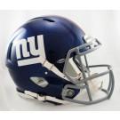New York Giants NFL Authentic Speed Revolution Full Size Helmet from Riddell