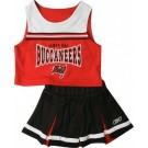 Reebok Two Piece Tampa Bay Buccaneers NFL Cheerleader Uniform Set (Size 4 to 6X)