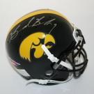 Brad Banks Autographed Iowa Hawkeyes Schutt Mini Helmet