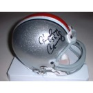 "Howard Cassady Autographed Ohio State Buckeyes Riddell Mini Helmet with ""55"" Inscription"