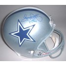 "Tony Dorsett Autographed Dallas Cowboys Riddell Full Size Replica Helmet with ""HOF 94"" Inscription"