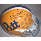"""Tony Dorsett Autographed Limited Edition Pittsburgh Panthers Schutt Full Size Replica Helmet with """"Heisman 76"""" Inscription"""