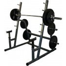 BD-6 Safety Squat / Bench Combination Rack from Valor Athletics (with Weight Plate Pegs)