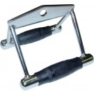 Triangle Chest Pull Bar Attachment with Rubber Grips from Valor Athletics (Weight Machine Accessory)