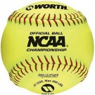 "12"" NCAA Official Championship Softballs from Worth - 1 Dozen"